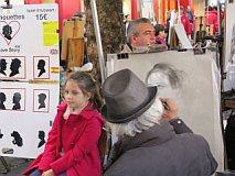 schilders in Montmartre