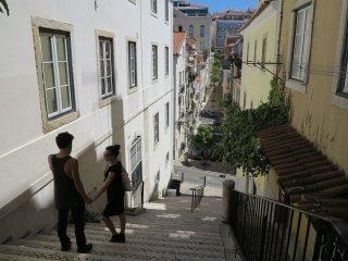 Lissabon in de wijk Bairro Alto.