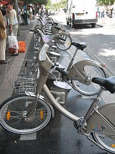 fietsenverhuur in Parijs