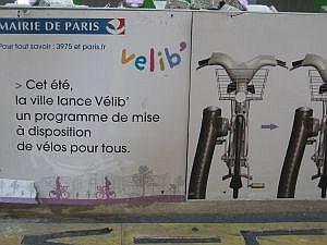 Parijs fietsen