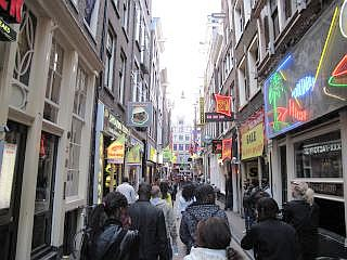 Centrum in Amsterdam