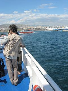 De haven van Pireus