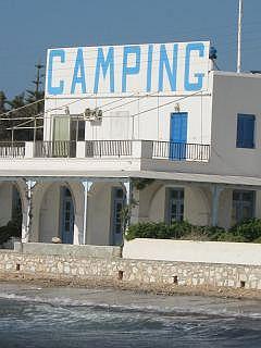 Camping op Paros