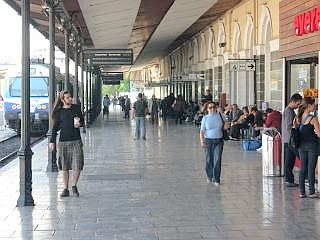 Larissa Station in Athene