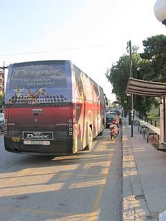 Bus in Korinthe