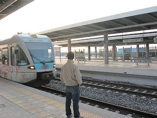 treinen in Griekenland, station in  Korinthos