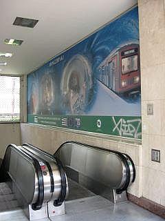 Metro in Athene