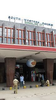 Station in Bangalore