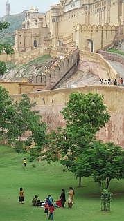 Jaipur in augustus