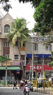 Het centrum van Bangalore