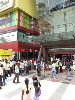 Forum mall in Bangalore