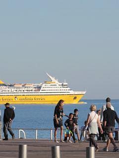 Veerboot van Nice naar Corsica en Sardinie