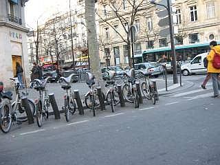 Velib in Montmartre