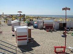 het strand van Blankenberge