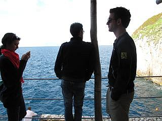 Italiaanse eilanden in de Golf van Napels