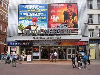 Bioscoop op Leicester Square Londen