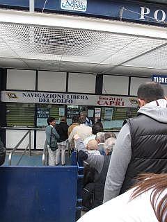 Veerboten in Italie