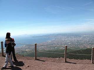 top van de Vesuvius