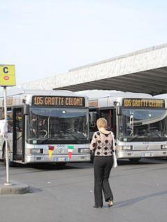 bussen in Rome