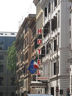 Een budgethotel bij Termini Station