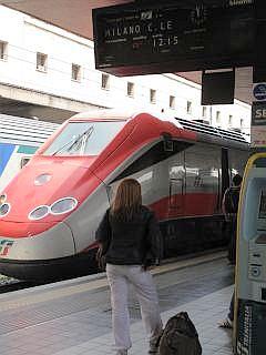 treinen in Italie