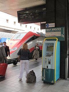 trein in Rome