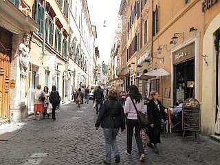 De omgeving van Via de Corso