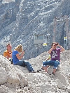 Zugspitze in Beieren