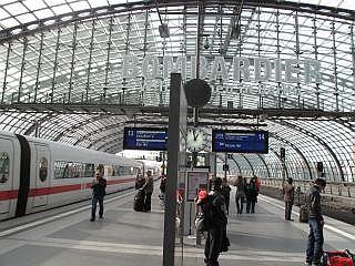 trein in Duitsland.