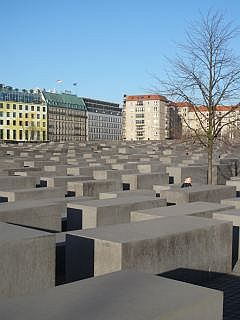 Berlijn  Holocaust Mahnmal