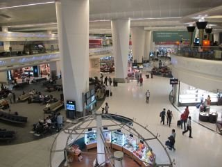 Vliegveld in Delhi