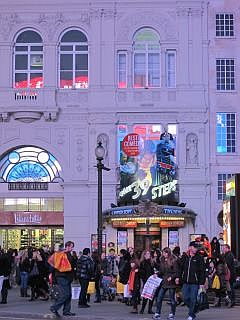 Theater op Piccadilly Circus