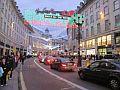 Regent Street met kerst