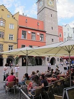 het centrum van Innsbruck Tirol