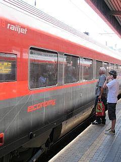 treinen in Oostenrijk