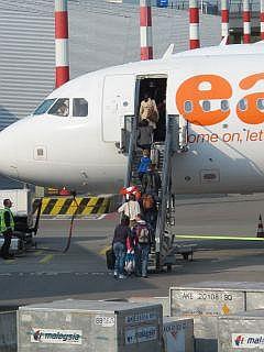 EasyJet vliegveld