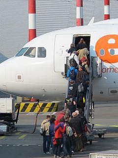 low budget maatschappijen op Schiphol
