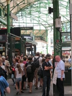 Borough Market in Londen