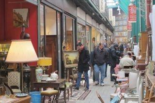 antiekmarkt in Parijs