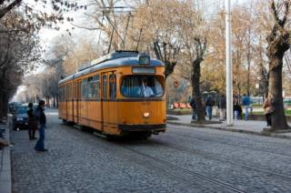 Bulgarije, tram in Sofia