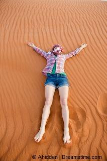 Chebbi woestijn