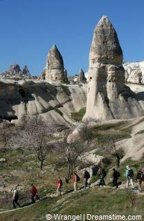Hiken in Cappadocië