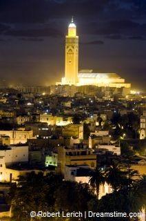 Casablanca in Marokko