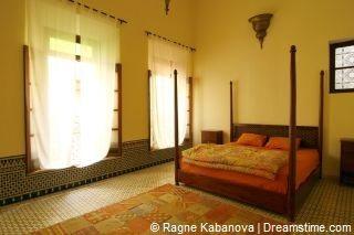 Hotelkamer in Marokko