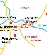 Kaart van Berlijn