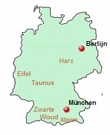 De bergen in Duitsland