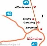 kaart over de Duitse grens