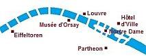 Kaart Seine