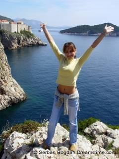 Kust bij Dubrovnik