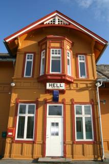 Station Hell in Noorwegen
